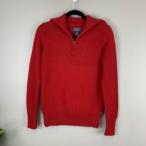 Polo Jeans Company Vintage Half-Zip T-Neck Sweater